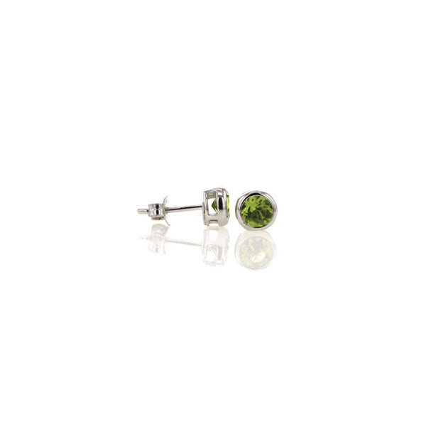 Peridot Studs for August