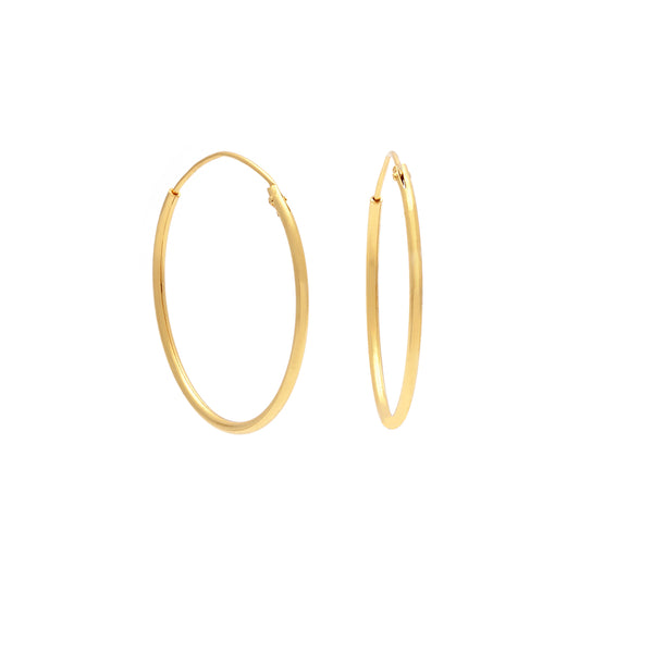 Hoop (Medium) - Gold