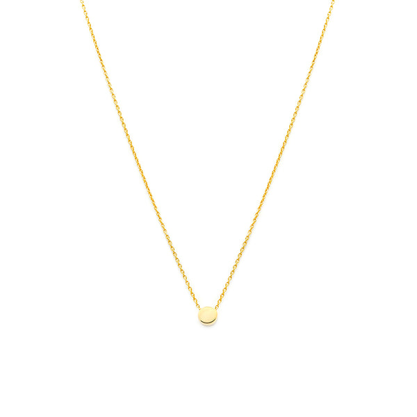 Dainty Dot Necklace - Gold