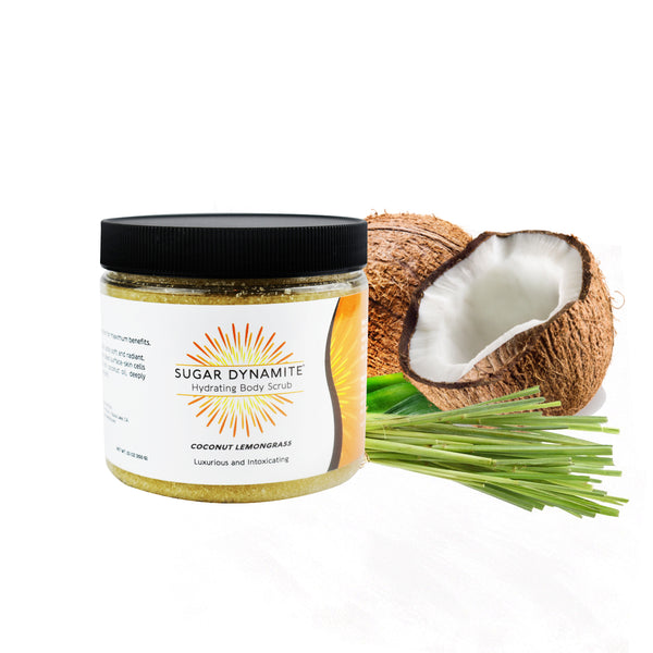 Coconut Lemongrass Hydrating Body Scrub