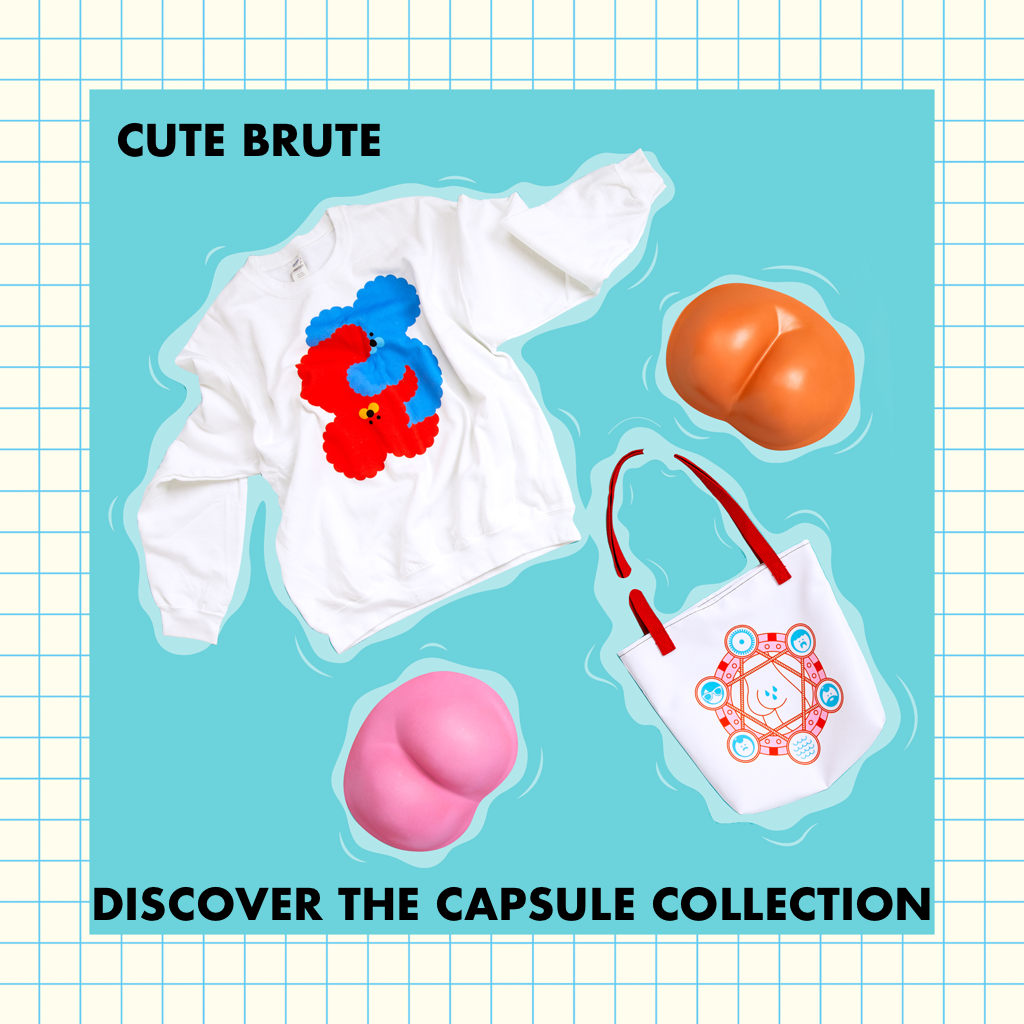 Shop Cute Brute x Rolik Capsule Collection
