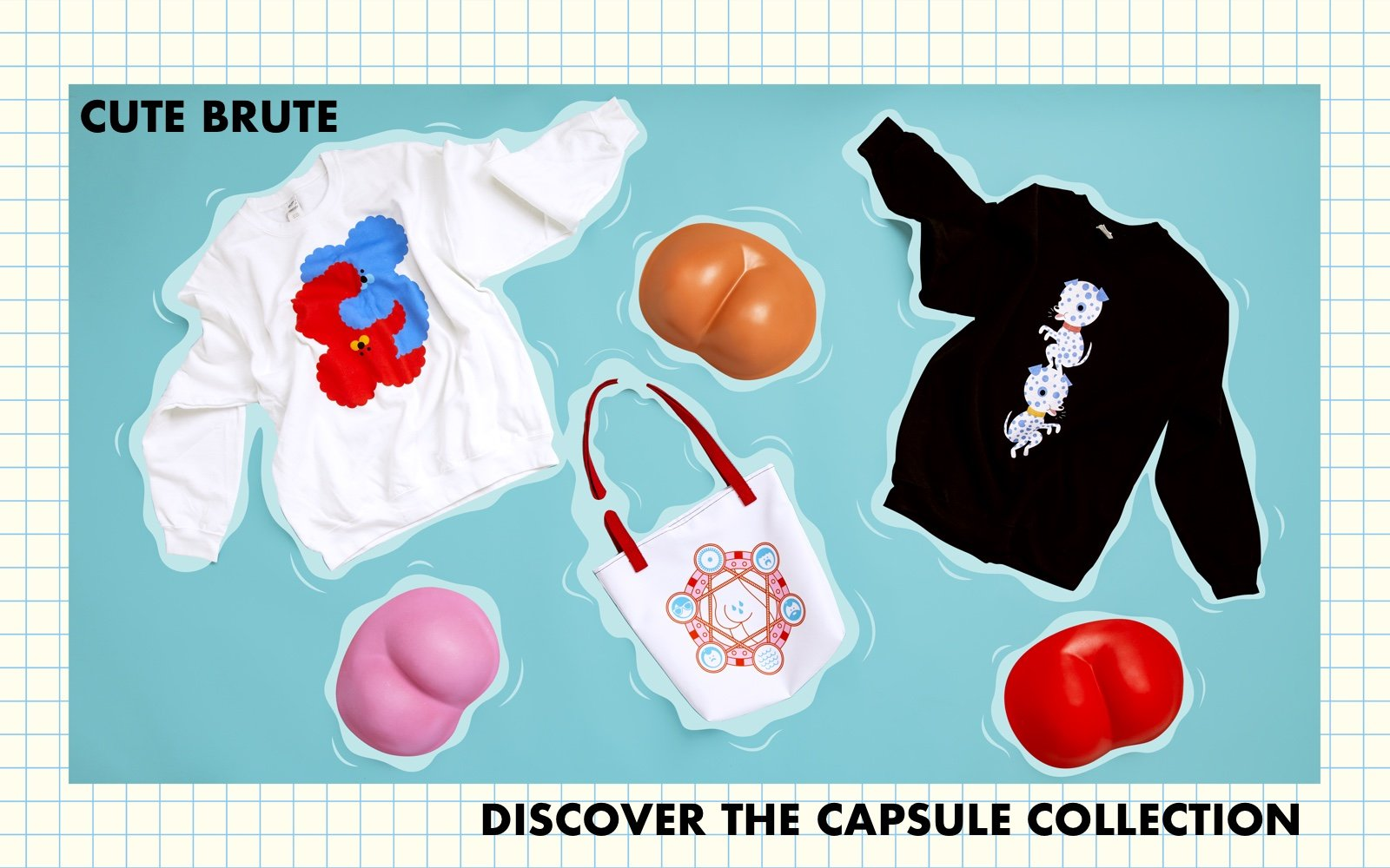 Cute Brute x Rolik - Discover The Capsule Collection