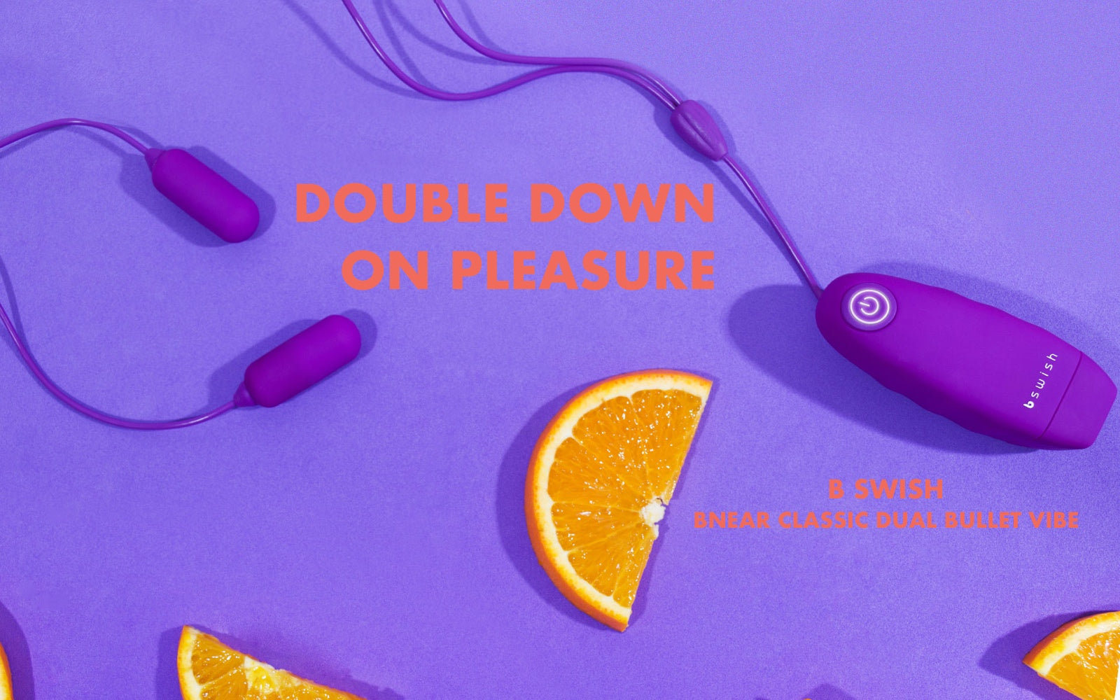Double Down On Your Pleasure - B Swish BNear Classic Dual Bullet Vibe - Rolik®