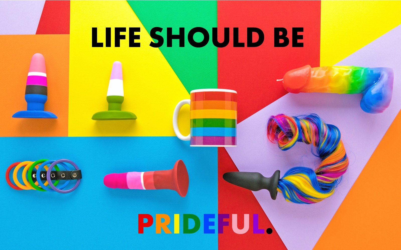 Life Should Be Prideful - Discover PRIDE products - Rolik®