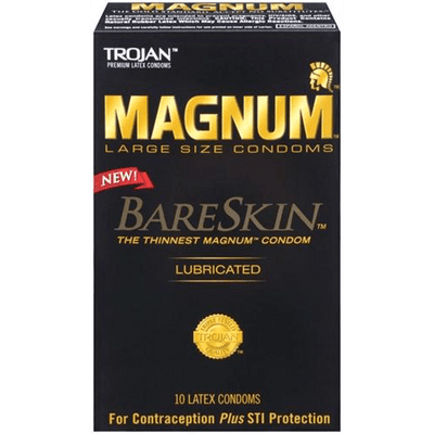 Magnum Bareskin Large Size Condoms by Trojan - rolik