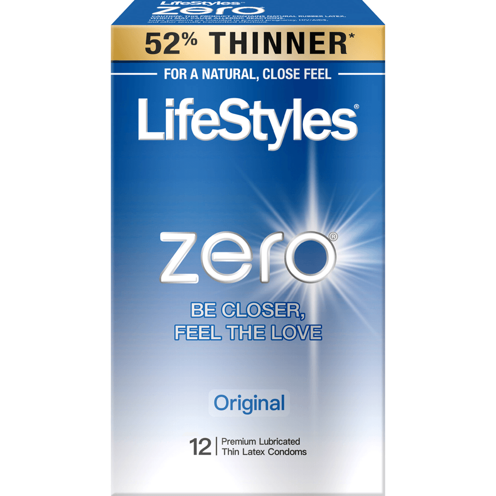 Lifestyles Zero Condoms 12-Pack by Paradise Marketing - rolik