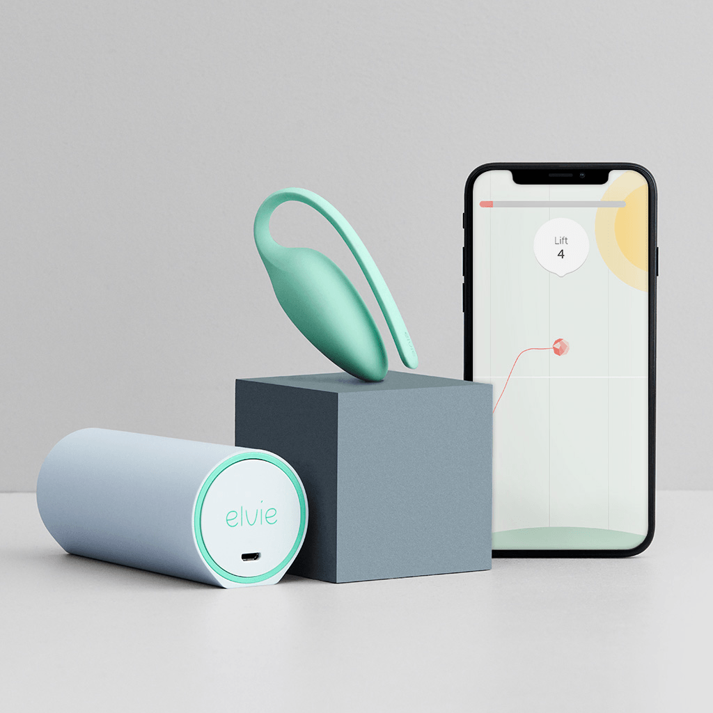 Elvie Kegel Exercise Tracker by Chiaro Technology - rolik