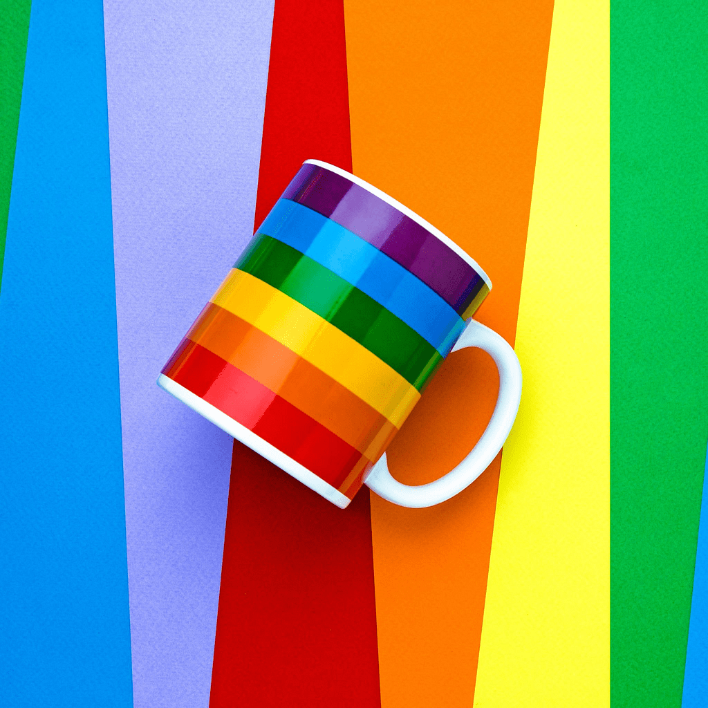 Rainbow Mug by PHS International - rolik