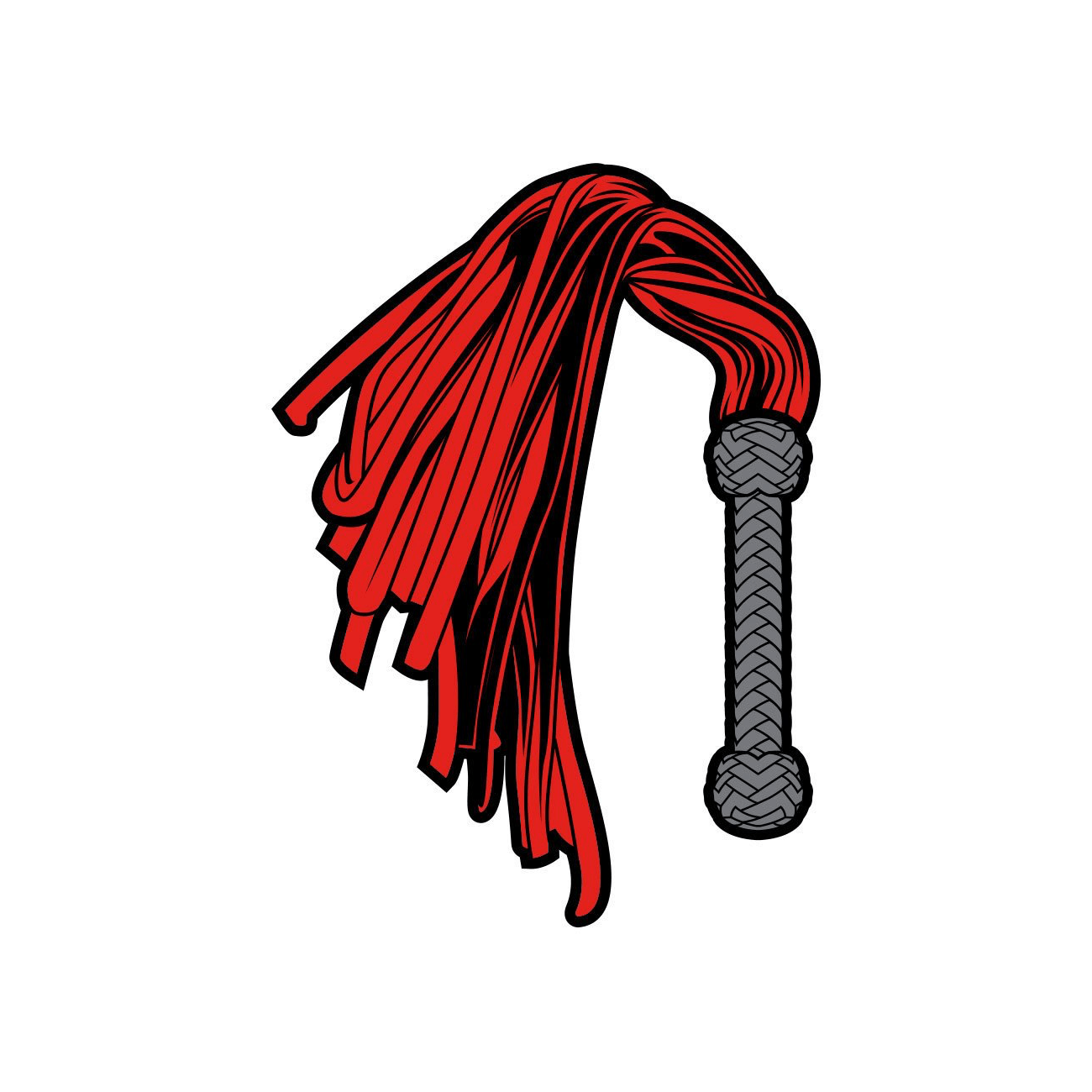 Flogger Enamel Pin by Wood Rocket - rolik