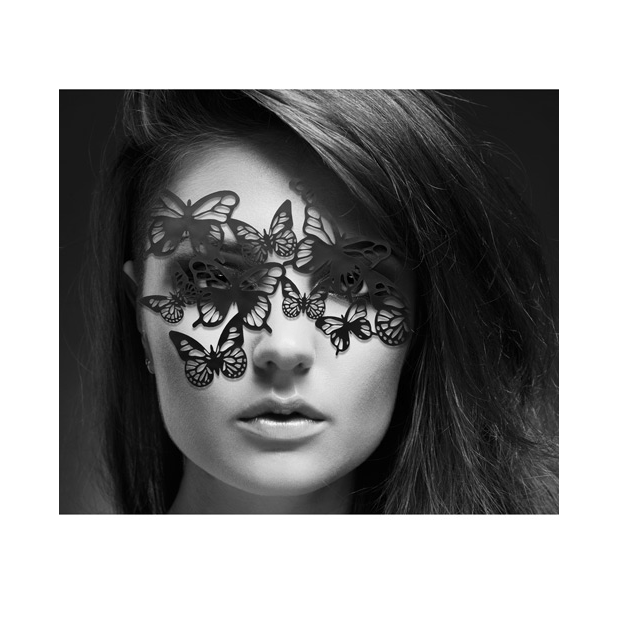 Sybille Decal Mask by Bijoux Indiscrets - rolik