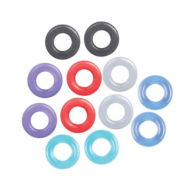 Baller's Dozen C-Ring 12-Pack by Icon Brands - rolik