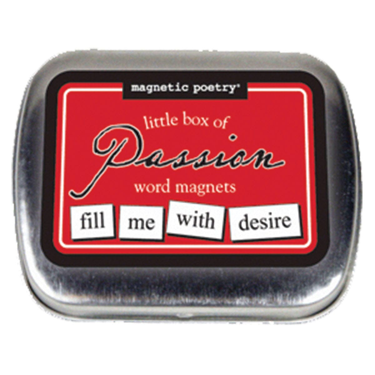 Little Box of Passion Word Magnets by Magnetic Poetry - rolik