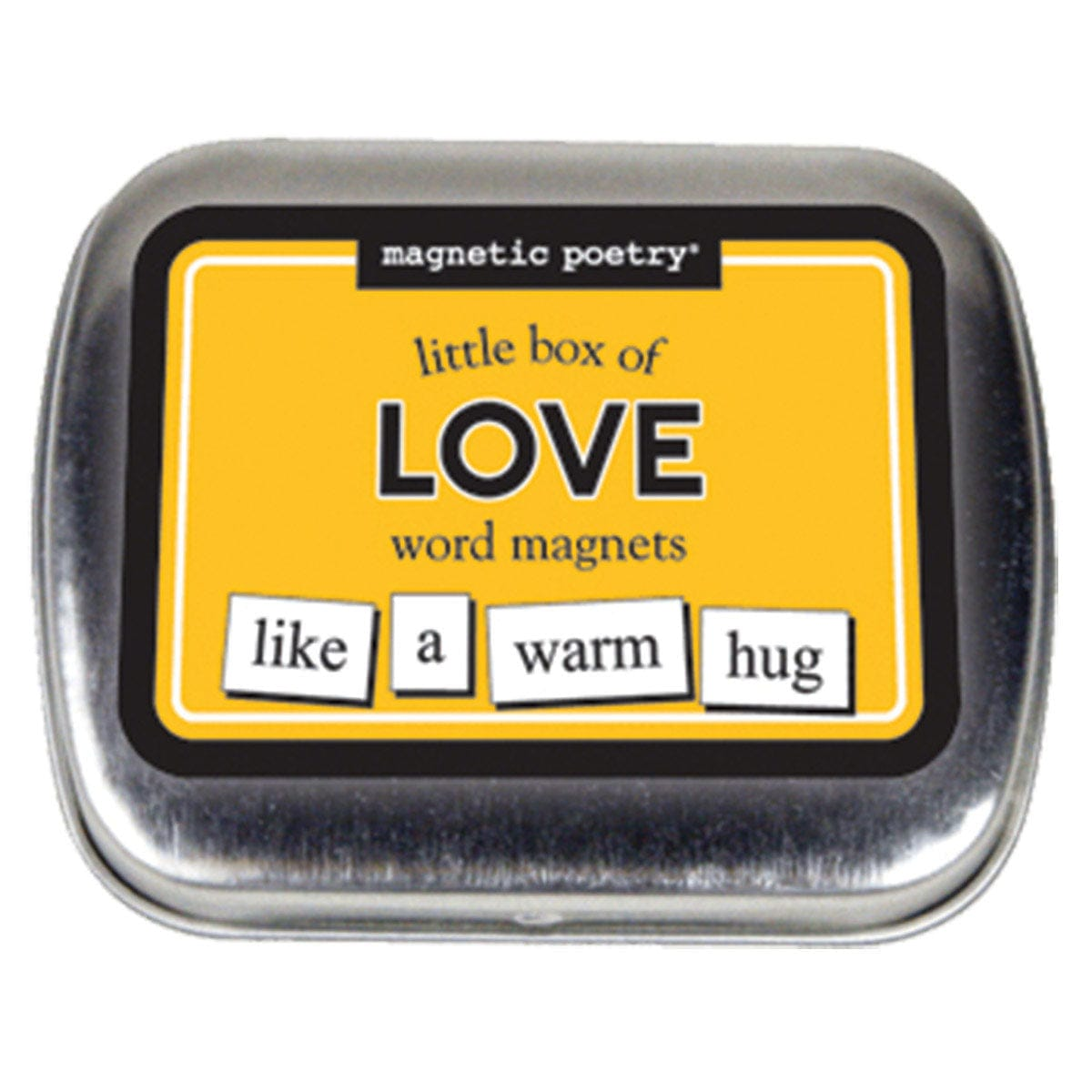 Little Box of Love Word Magnets by Magnetic Poetry - rolik