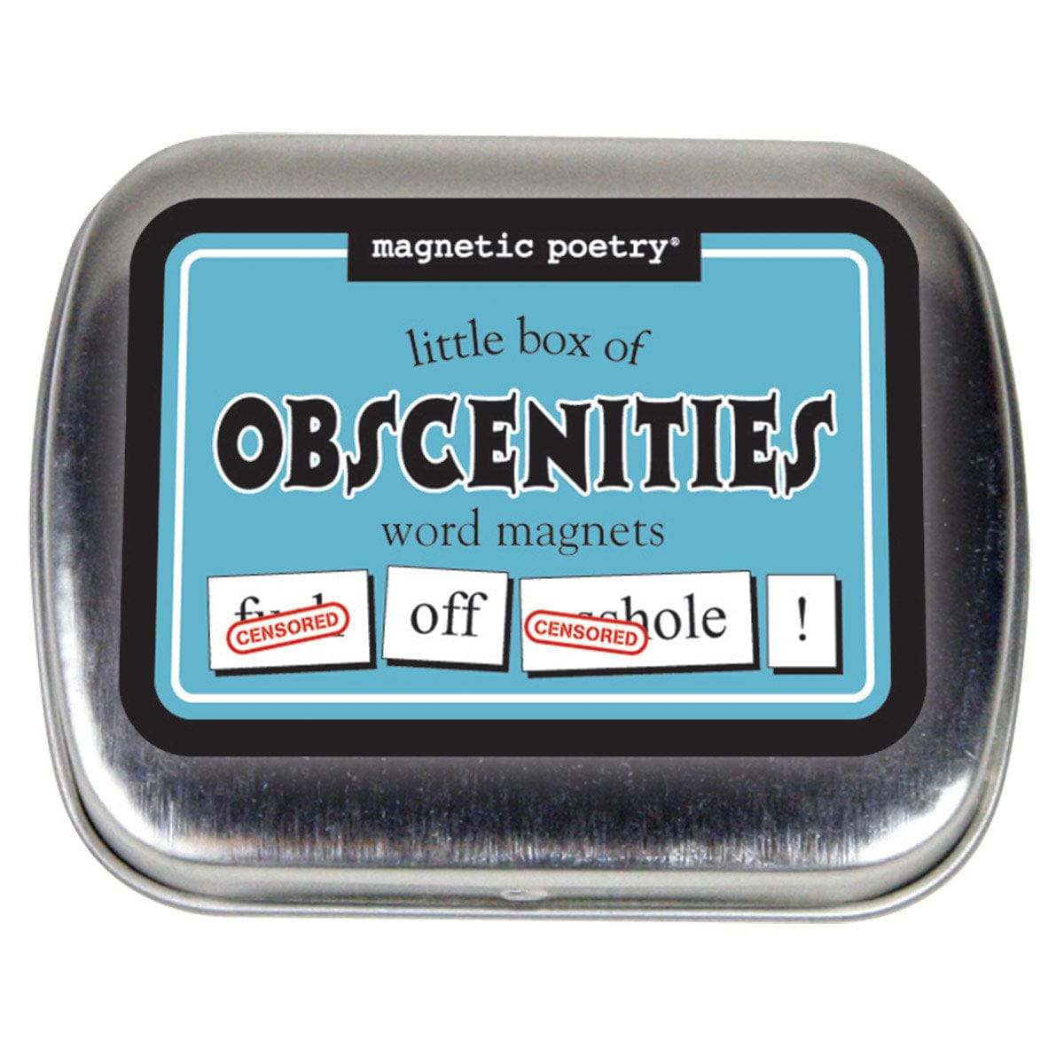 Little Box of Obscenities Word Magnets by Magnetic Poetry - rolik