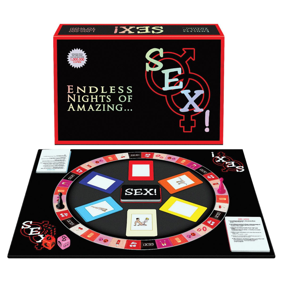 Sex! Board Game by Kheper Games - rolik