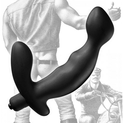 Tom of Finland Silicone P-Spot Vibe by XR Brands - rolik