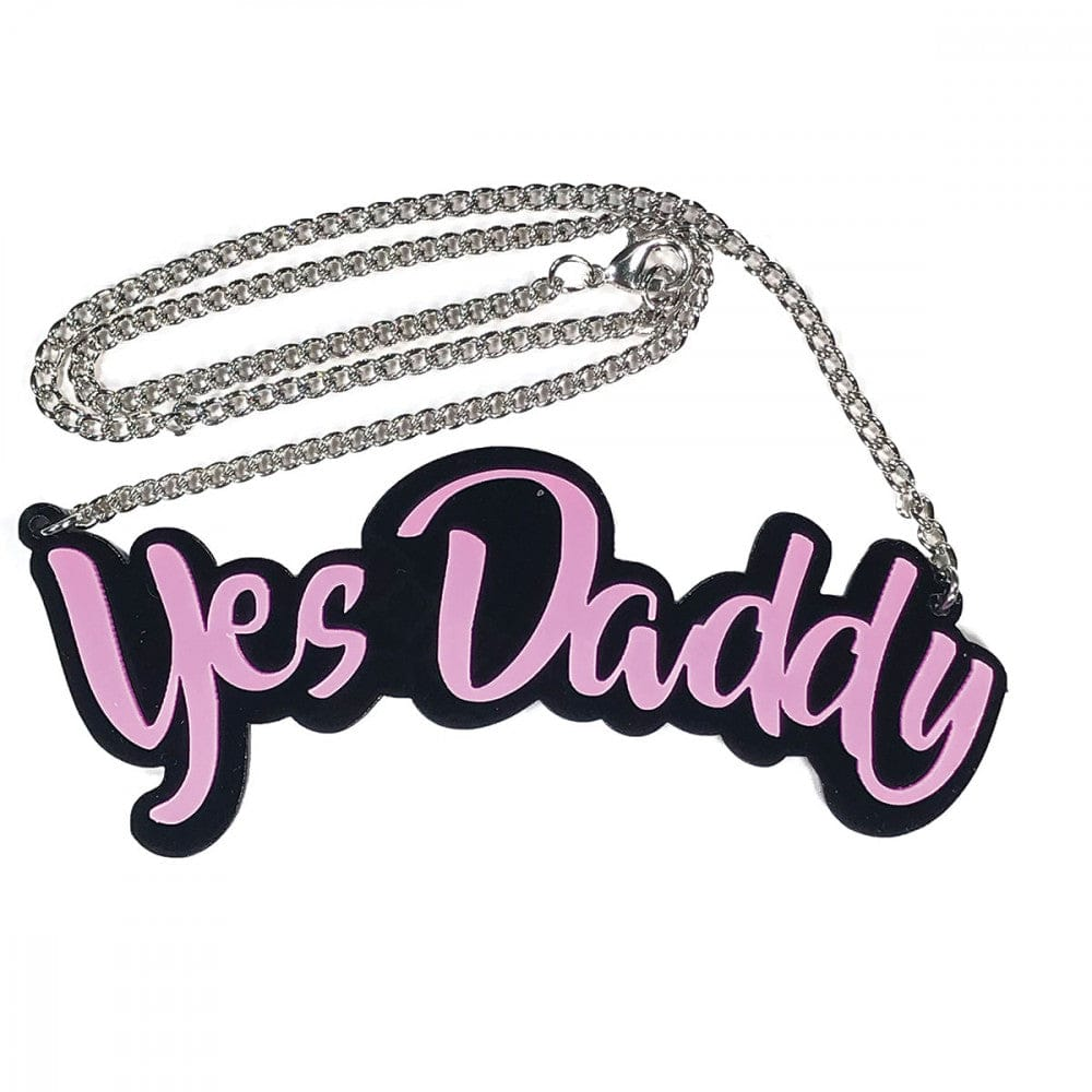 Geeky and Kinky Yes Daddy Necklace - Rolik®