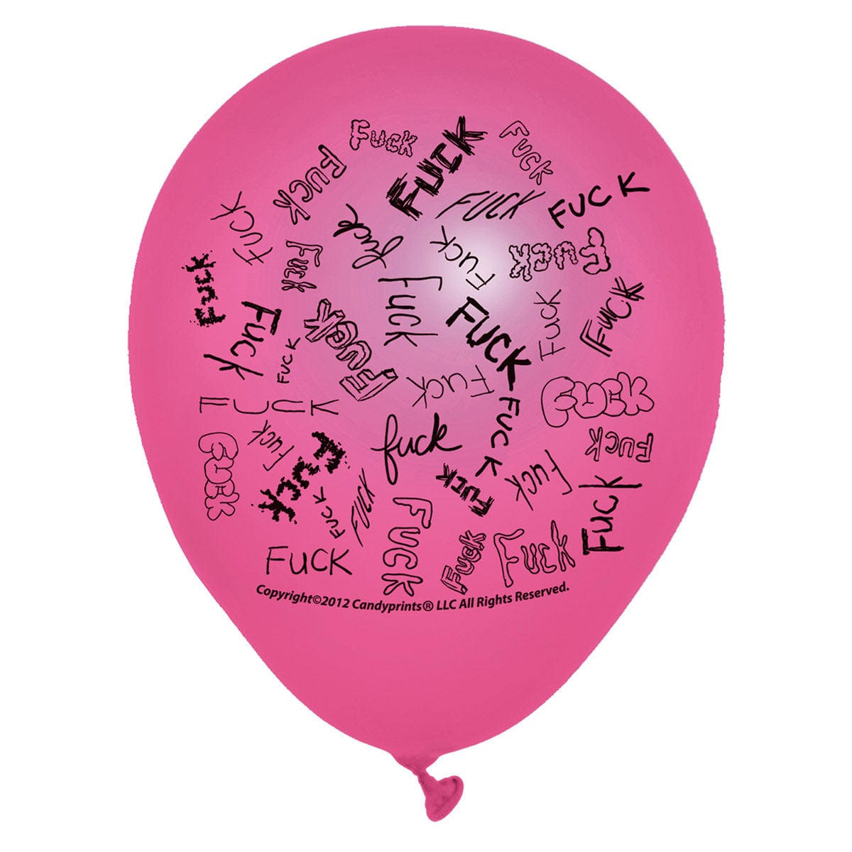 F-Bomb Balloons 8-Pack by Candyprints - rolik