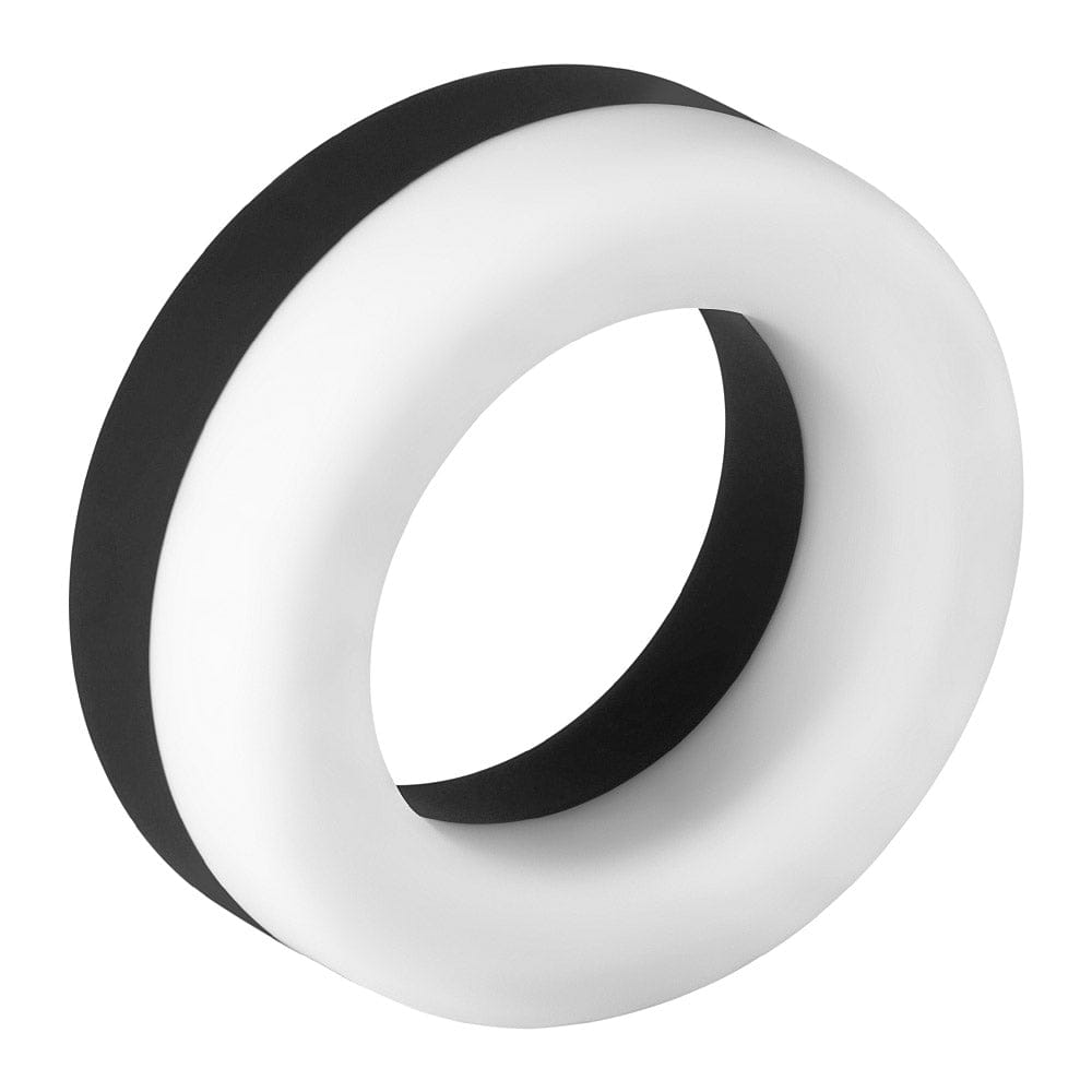 Forto F-19 Two-Toned Silicone C-Ring White,Black - Rolik®