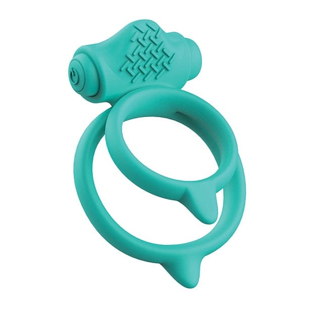 B Swish Bcharmed Basic Plus Vibrating C-Ring Seafoam Green - Rolik®