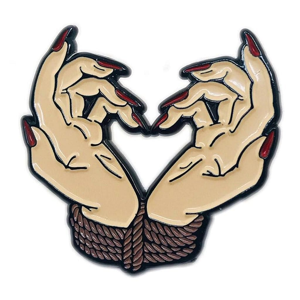 Bound By Love Enamel Pin - Geeky and Kinky - Rolik