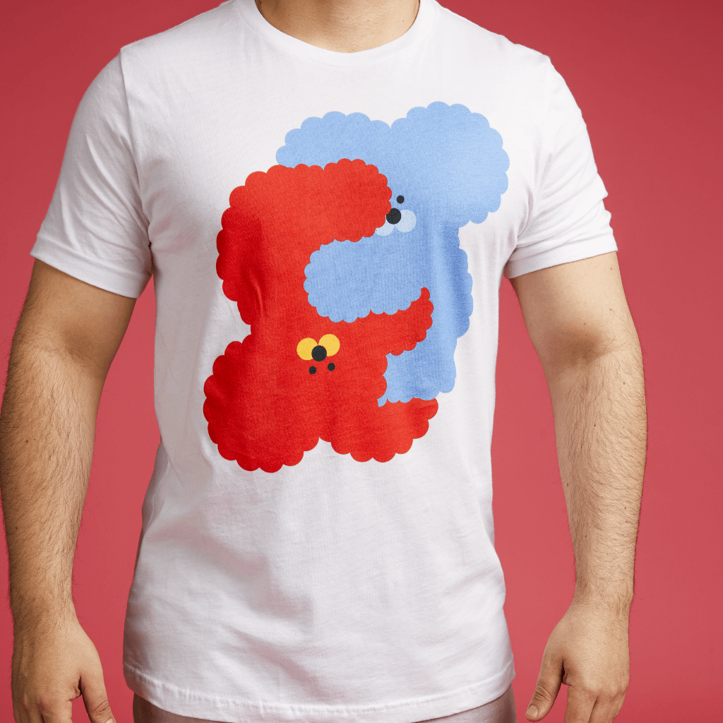 Cuddles T-Shirt by Cute Brute x Rolik - rolik