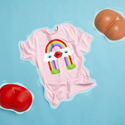 Rainbow T-Shirt by Cute Brute x Rolik - rolik