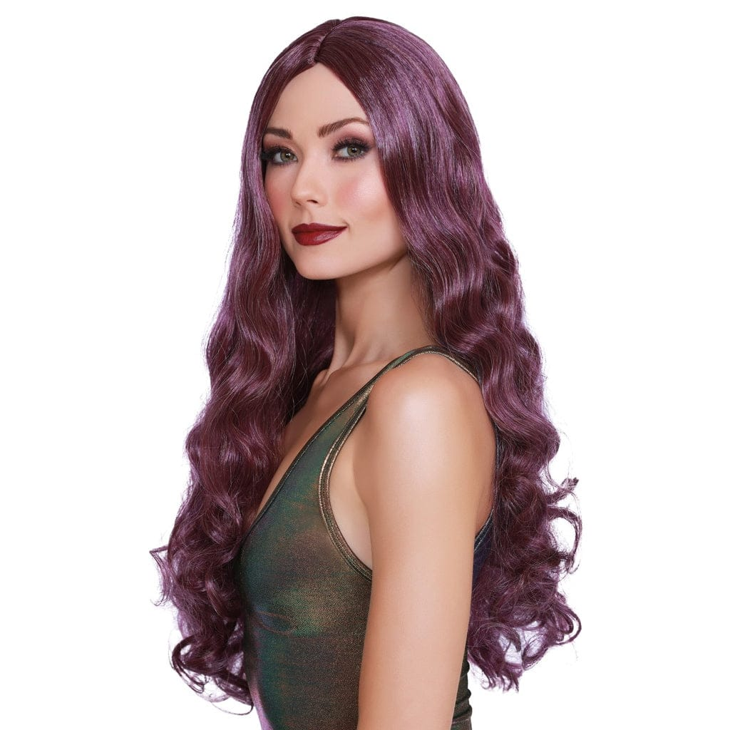Dreamgirl® Long Wavy Wig Purple - Rolik®