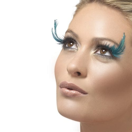 Fever Collection Black Teal Eyelashes - Rolik®