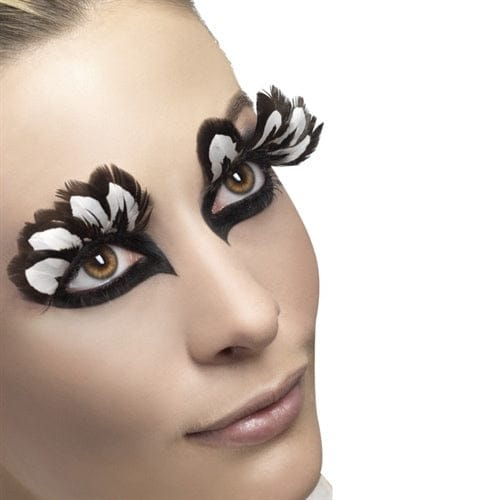 Fever Collection Brown Feather Eyelashes - Rolik®