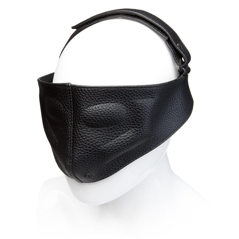 Kink by Doc Johnson® Leather Blinding Mask - Rolik®