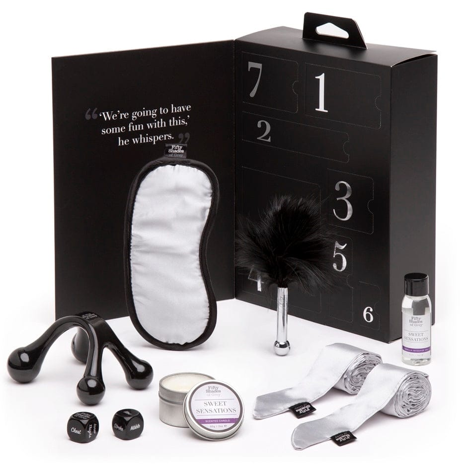 Lovehoney® Fifty Shades of Grey Sweet Sensations 7-Piece Gift Set - Rolik®
