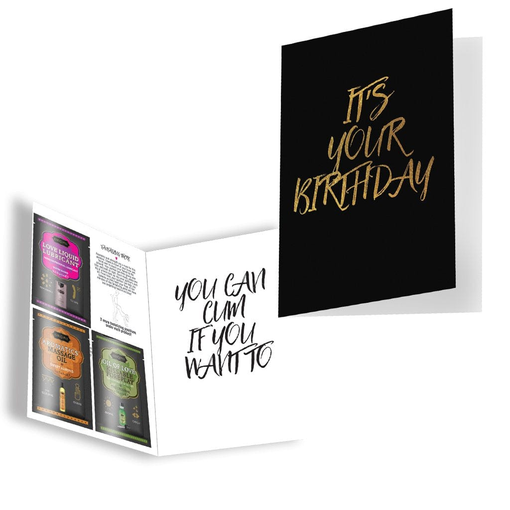 Kama Sutra® Naughty Notes It's Your Birthday Greeting Card - Rolik®