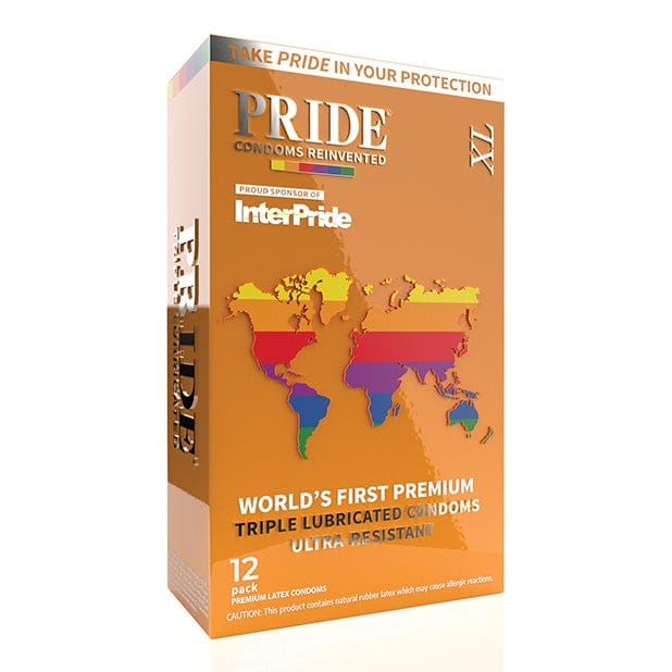 Pride XL Condoms 12-Pack - Rolik®