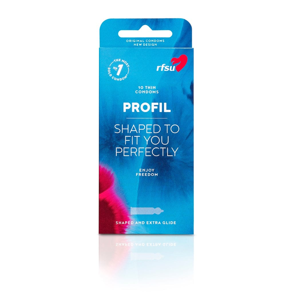 Profil Condoms 10-Pack by RFSU - rolik