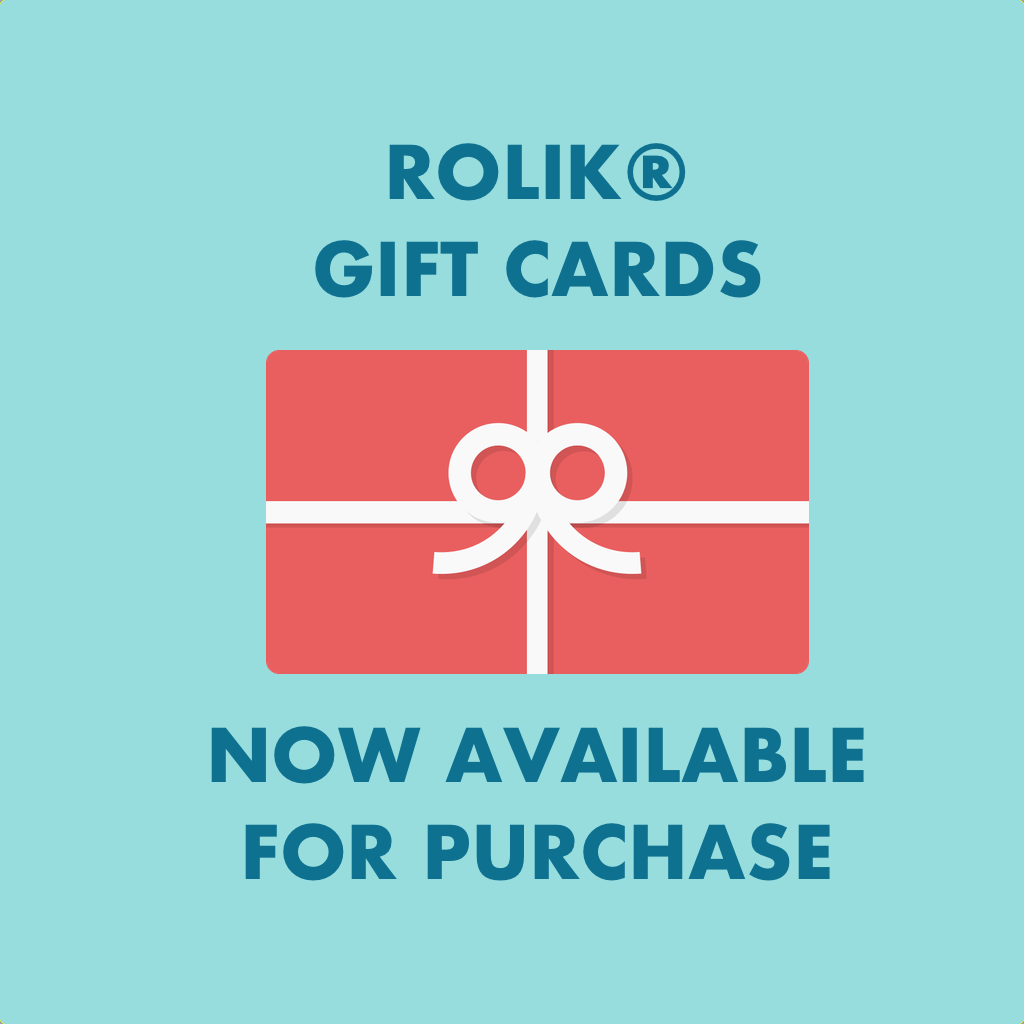 Rolik® Gifts Cards Available For Purchase