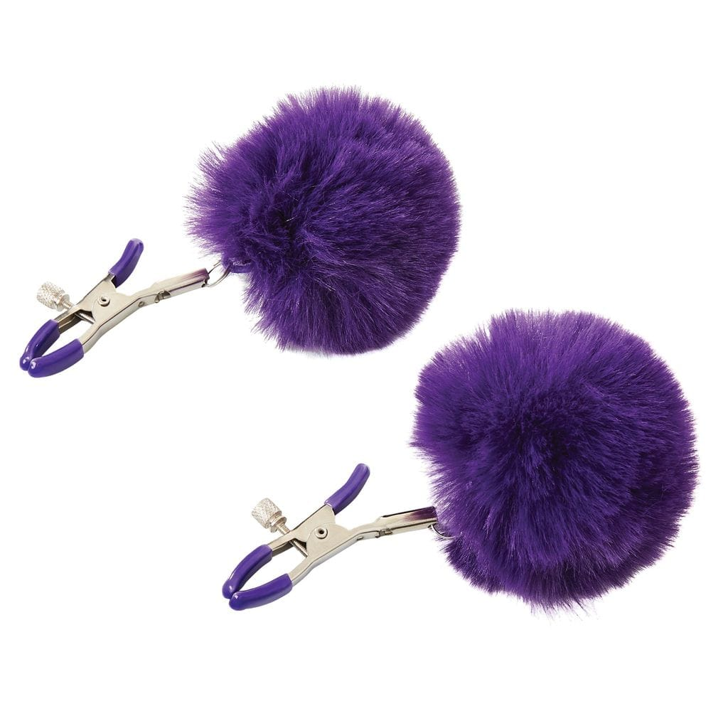 Sincerely Faux Fur Nipple Clamps by Sportsheets - rolik