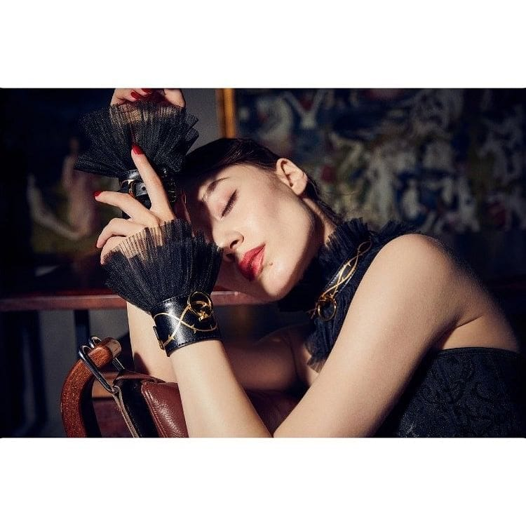 UPKO + Zalo Doll Designer Collection Leather Thorn Handcuffs - Rolik®
