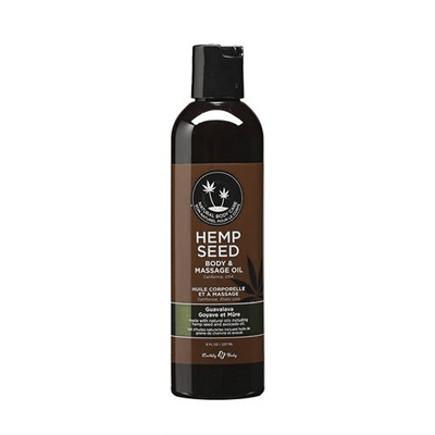 Hemp Seed Massage Oils by Earthly Body - rolik