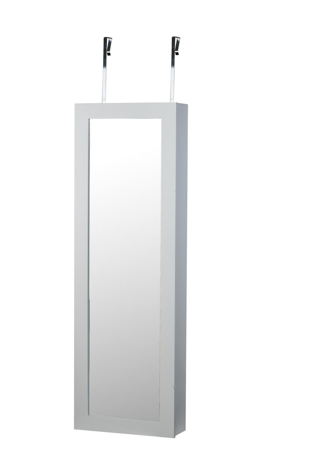 Image of: Makeup Organizer Mirror Over Door Wall Mount Jewelry Cabinet Armoire V Btexpert