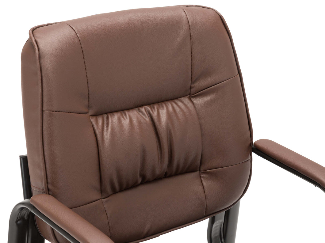 BTEXPERT Premium Leather Office Executive Chair Waiting Guest Side Chair