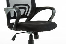 Ergonomic Mesh Mid back Computer Desk Office Chair, Black, Arm Chair