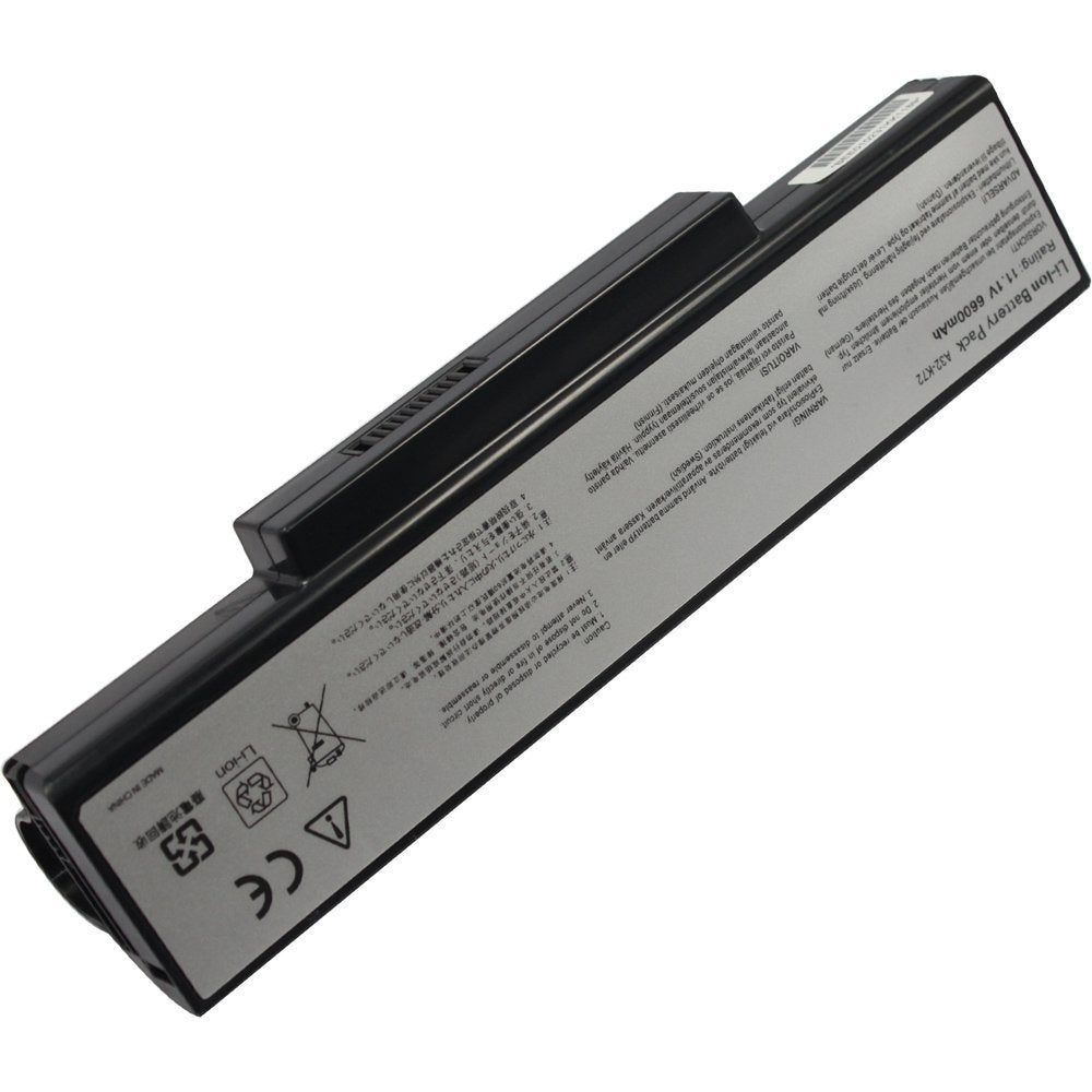BTExpert® Battery for Asus A72Jt A72Jt-Ty139V A72Ju A73B A73Br A73By A73E A73S A73Sd A73Sj A73Sm A73Sv A73Sw A73T A73Ta A73Tk K72 K72D K72Dr K72Dr-A1 7200mah 9 Cell