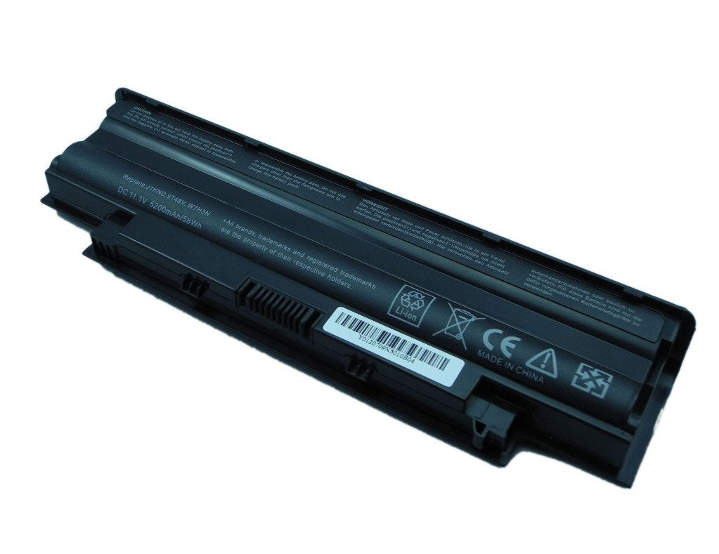 BTExpert® Battery for Dell Inspiron M5030-1920OBK M5030-2792B3D M5030-2800B3D M5030-2836B3D M5030-2857OBK N5010-D148 N5010-D168 N5030-2450B3D 5200mah 6 Cell