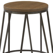 BTEXPERT 5082-4 Round Bistro Dining Stools Chair, 30, Kate and Laurel Tully Backless Modern Wood