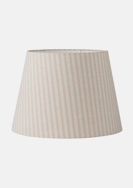 Shade - Ticking in Pale Pink
