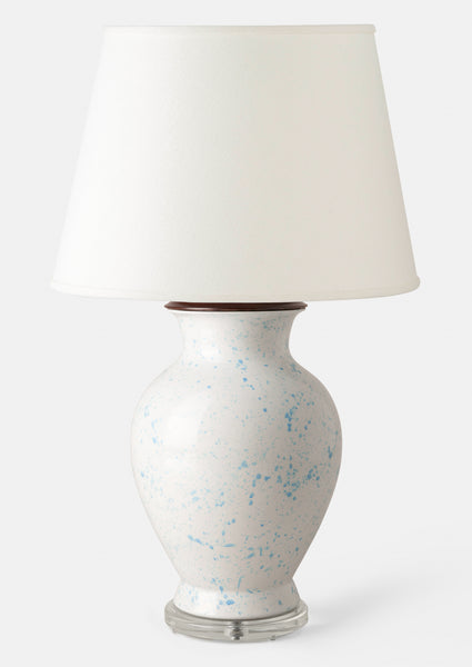 Classic - Light Blue Speckle Large Urn