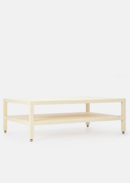 Raffia Jennifer Coffee Table - Small