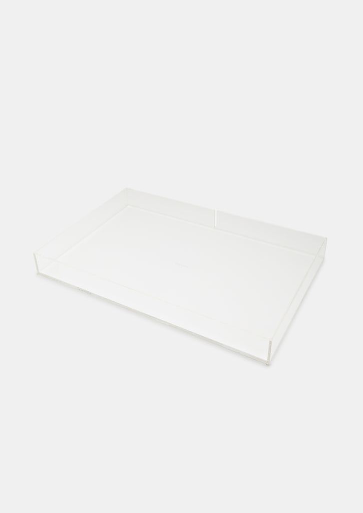 Bragg & Co Perspex tray - Large Straight Edge with cut out