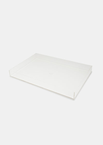 Bragg & Co Perspex tray - Large Straight Edge